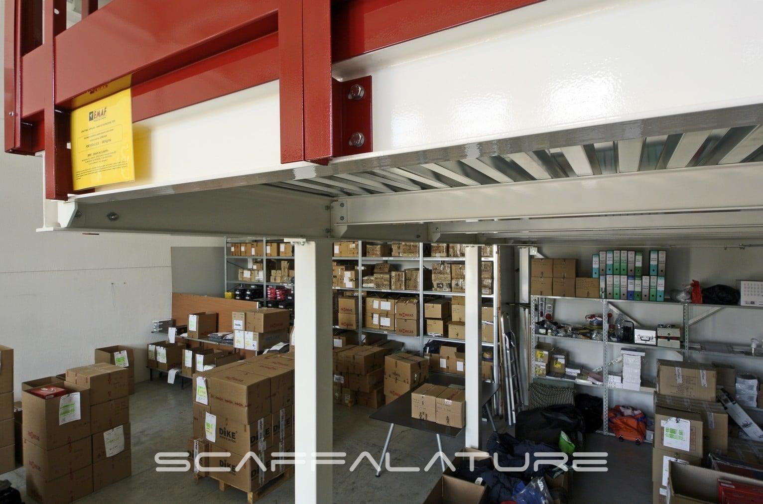 Costo Soppalco Al Mq soppalchi industriali - palladio es200 da dieci metri quadrati