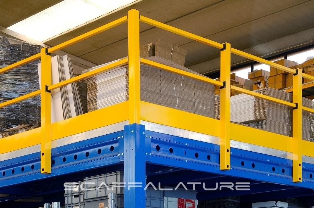 Soppalchi industriali palladio es300 da venticinque for Scala metri quadrati